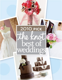 2010 theknot best of weddings winner